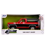 Jada Just Trucks Series: 1980 Chevy K5 Blazer Stock (Red) 1/24 Scale
