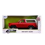 Jada Just Trucks Series: 1980 Chevy K5 Blazer Off-Road (Red) 1/24 Scale