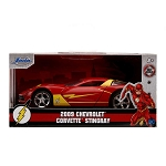 Jada Hollywood Rides: Flash 2009 Chevy Corvette Stingray 1/32 Scale