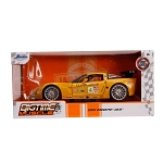 Jada Bigtime Muscle Series: 2005 Corvette C6-R (Yellow) 1/24 Scale