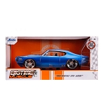 Jada Bigtime Muscle Series: 1969 Pontiac GTO Judge (Blue) 1/24 Scale