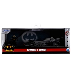 Jada Hollywood Rides: 1989 Batmobile & Batman 1/32 Scale