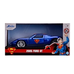 Jada Hollywood Rides: Superman 2005 Ford GT 1/32 Scale
