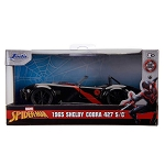 Jada Hollywood Rides: Spider-Man Miles Morales 1965 Shelby Cobra 427 SC 1/32 Scale