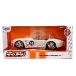 Jada Bigtime Muscle Series: 1965 Shelby Cobra Race Version #58 (White) 1/24 Scale