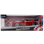 Jada Hollywood Rides: 2009 Nissan GT-R R35 & Red Ranger 1/24 Scale