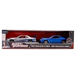 Jada Fast & Furious: Twin Pack Brian's Nissan Skyline GT-R Blue & Silver 1/32 Scale