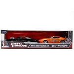 Jada Fast & Furious: Twin Pack Brian's Supra with Dom's Dodge Charger 1/32 Scale