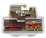 Hitch & Tow: 2015 Chevy Silverado and State Fair Concession Trailer 1/64 Scale