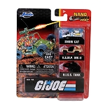 Jada Nano Hollywood Rides: G.I. Joe Collector's Die-cast Series