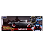 Jada Hollywood Rides: Back to the Future III Time Machine w/Light 1/24 Scale
