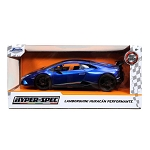 Jada Toys HyperSpec Series: Lamborghini Huracan Performante (Blue) 1/24 Scale