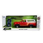 Jada Just Trucks Series: 1980 Chevy K5 Blazer with Wheels & Rack 1/24 Scale
