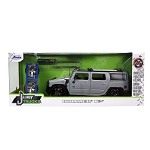 Jada Just Trucks Series: 2003 Hummer H2  with Wheels & Rack 1/24 Scale