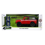Jada Just Trucks Series: 1973 Ford Bronco w/ Extra Wheels & Rack 1/24 Scale