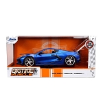 Jada Bigtime Muscle Series: 2020 Chevy Corvette Stingray (Blue) 1/24 Scale