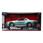 Jada Fast & Furious: Brian's Nissan Skyline GT-R R34 (Turquoise) 1/24 Scale