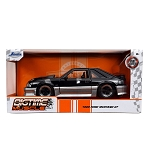 Jada Bigtime Muscle Series: 1989 Ford Mustang GT (Black/Gray) 1/24 Scale