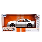 Jada Bigtime Muscle Series: 1989 Ford Mustang GT (White/Gray) 1/24 Scale