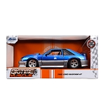 Jada Bigtime Muscle Series: 1989 Ford Mustang GT (Blue/Gray) 1/24 Scale