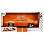 Jada Bigtime Muscle Series: 1972 Plymouth GTX 440 (Orange) 1/24 Scale