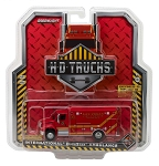 Greenlight H.D. Trucks: 2013 INTL Durastar Las Vegas Fire & Rescue Paramedics 1/64 Scale