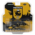 Greenlight H.D. Trucks: 1967 Ford F-350 Ramp Truck with Shelby Cobra Terlingua Racing Team 1/64 Scale