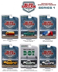 Set of 6: Blue Collar Series 1. Brand New Series from Greenlight!