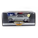 CHASE CAR! American Muscle: 1970 Chevy Monte Carlo (Chrome) 1/18 Scale