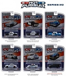 Set of 6: Greenlight Hot Pursuit Series 20 1/64 Scale