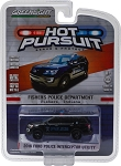 Greenlight Hot Pursuit: 2016 Ford Police Interceptor Utility - Fishers, IN Police  1/64 Scale