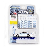 Greenlight 2011 Ford Police Interceptor NYPD with Decal Sheet 1/64 Scale