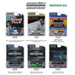 Set of 6: Greenlight Hollywood Series 20 1/64 Scale