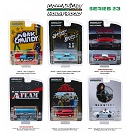 Set of 6: Greenlight Hollywood Series 23 1/64 Scale