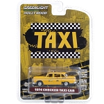 Greenlight Hollywood Series 29: Taxi's 1974 Checker Taxi Cab 1/64 Scale