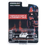 Greenlight Hollywood Series 29: Terminator's 87 Chevy Caprice Police 1/64 Scale
