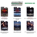 Set of 6: Greenlight Hollywood Series 30 1/64 Scale
