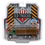 Greenlight SD Trucks: 2018 INTL Work Star Stake Truck 1/64 Scale