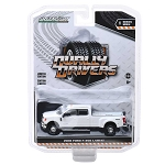 Greenlight Dually Drivers Series: 2018 Ford F-350 Lariat (White) 1/64 Scale