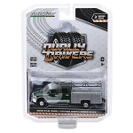 Greenlight Dually Drivers Series: 2018 Ram 3500 Laramie with Ladder Rack 1/64 Scale