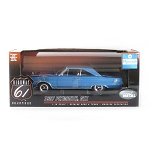 Highway 61: 1967 Plymouth GTX (Blue) 1/18 Scale