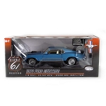 Highway 61: 1970 Ford Mustang Mach I (Blue) 1/18 Scale