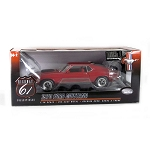 Highway 61: 1970 Ford Mustang Mach I (Apple Red) 1/18 Scale
