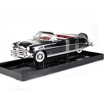 Highway 61: 1952 Hudson Hornet Convertible (Black) 1/18 Scale. Generic Box Packaging.