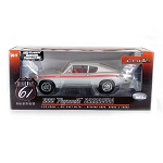 Highway 61: 1969 Plymouth Barracuda 383 (Silver) 1/18 Scale