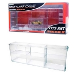 Greenlight Connecting Acrylic Display Case 6-Slots 1/64 Scale. Includes Honda Civic Si!
