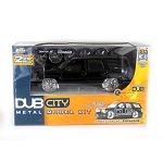 DUB City: 2002 Cadillac Escalade Model Kit (Black) 1/24 Scale