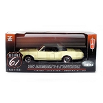 Highway 61: 1967 Oldsmobile 4-4-2 Convertible (Black Top) 1/18 Scale