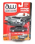 Vintage Muscle: 1966 Chevy Impala SS (Black) 1/64 Scale