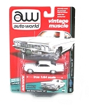 Vintage Muscle: 1966 Chevy Impala SS (White) 1/64 Scale